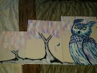 5 peice owl painting or can break up Knoxville, 37918