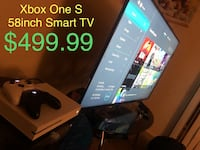 Xbox One S + 58inch Smart TV Bundle Deal Baltimore, 21201