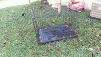 black metal wire pet kennel 234 mi