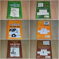 Diary Of A Wimpy Kid (5 Hard Covers) Perfect for classroom libraries Surrey