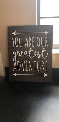 Brown and white wooden quote board Summerfield, 34491
