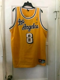 yellow and white Chicago Bulls 23 jersey Torrance, 90504