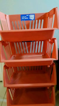 baby's white and red wooden crib Port Coquitlam, V3C 5Y8