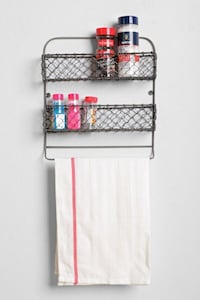 Wall shelf spice rack storage organizer  Toronto, M4P 1N7