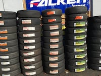 205/55R16 SET OF 4 TIRES ON SALE WE CARRY ALL MAKOR BRABDS  Piedmont, 94611