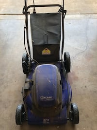 Kobalt Electric mower Slaton, 79364