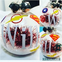 Personalized Christmas ornaments ball