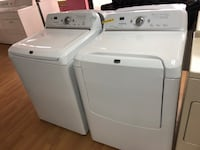 Maytag white washer and dryer set 29 mi