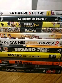Lot de DVD assortis Aigleville, 27120