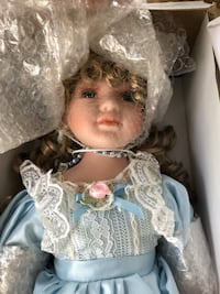 Porcelain doll from Heritage signature collection Salem, 03079