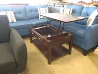 Brown Wooden lift up coffee table sale Phoenix, 85018