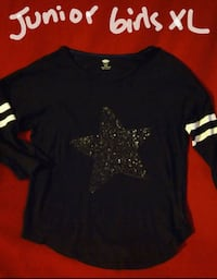 Old Navy sequined star shirt