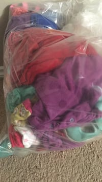 Bag of infant baby clothes  and accessories 0 to 3 years Edmonton, T6R 3P7