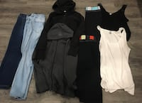 Women's clothing lot size large/XL Langley, V3A 6N1