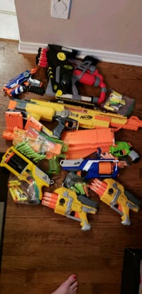 Assorted Nerf guns and bullets Ottawa, K4A 3Z2
