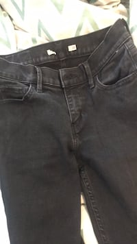 black faded levis size 26 low rise