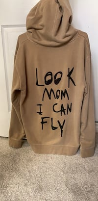 Travis Scott astroworld look mom I can fly hoodie