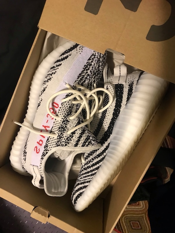 "ab1c36d7259 Used Yeezy boost 350 V2 ""Zebra "" Sz10 for sale in Brookeville - letgo"