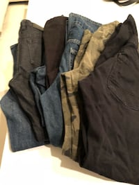 8 pairs of boys pants size 10-12 almost new Downey, 90241
