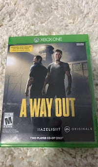 A way out game for xbox one brand new Calgary, T3J 0G3