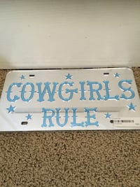 Cowgirl's Rule license plate case Calgary, T3B 1T2