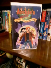 VHS movie classic Archie's Universal release Archie and the Riverdale  Chesapeake, 23322