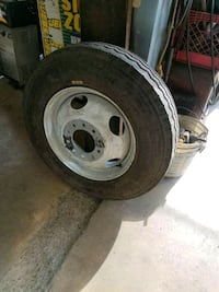 19.5 truck tire for a dump truck or camper