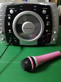 black white and pink microphone New York, 11420