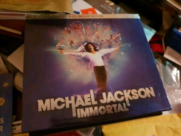 Michael Jackson Immortal cd Deluxe edition 2 cd