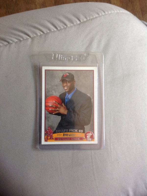 Used Dwayne Wade Rookie Basketball Card For Sale In
