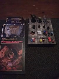 Dungeons and Dragons retiring DM setup for play Maryville, 37803