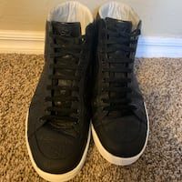 Gucci GG High Tops Black with white sole