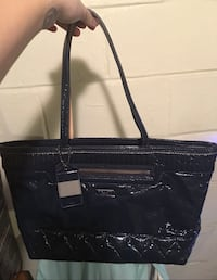 Authentic coach poppy navy blue leather tote! brand new! Citrus Heights, 95610