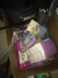Box of girl toys just want $10 for the whole box