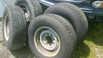 244 75 16 LT E tires and wheels read ad