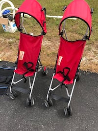 red and black lightweight stroller Concord, 03303