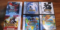 Pokemon games assorted 3DS/DS