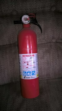 Never used small fire extinguisher