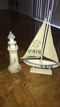 Decorative lighthouse and boat Alexandria, 22309