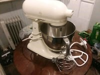 white and gray KitchenAid stand mixer Rockville, 20851