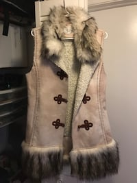Tan and beige fur waistcoat Newington, 06111
