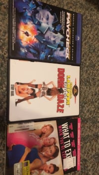 3 assorted movie DVD cases Catawba, 24070