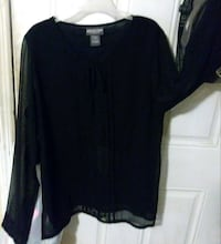 Black Long Sleeve Top~Size: Small/Brand: Notations 774 mi