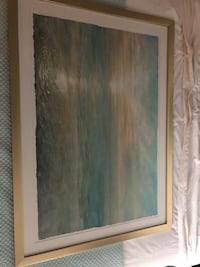 Ocean picture with gold frame Nashville, 37203