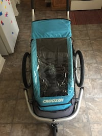 baby's blue and black jogging stroller Silver Spring, 20901
