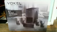 Vowel Media Labs 5.1 HD Home Theater System Toronto, M6N 4L2