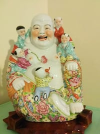 Vintage Porcelain Chinese Laughing Buddah Markham, L3T 0A4