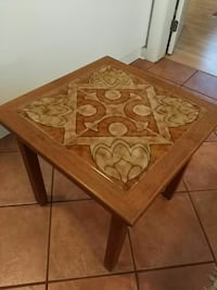 square brown wooden table Victoria, V8V 2W6