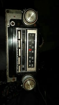 Old car radio 2341 mi