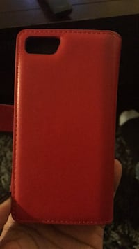 Red & Black Phone Case with Wallet Los Angeles, 90045